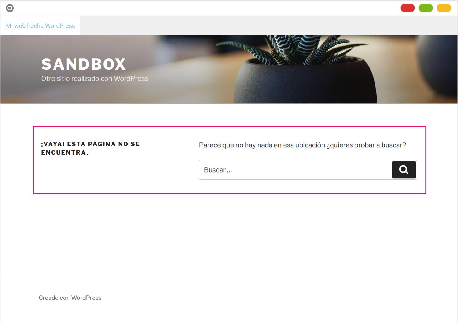 Cómo se muestra una página privada a un usuario sin acceso